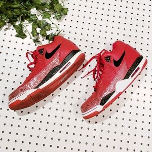 Nike Air 2014 Flight Club Red Sneakers size 13